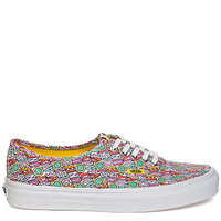 The Vans x The Beatles All You Need is Love Authentics in Pink and White