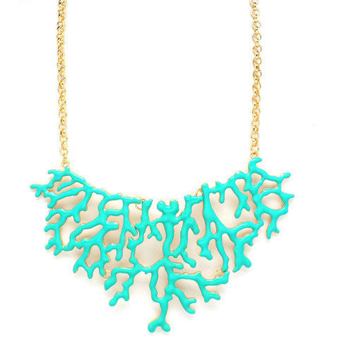 Pree Brulee - Teal Reef Necklace