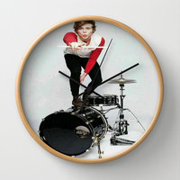 Ashton on teen now Wall Clock by kikabarros