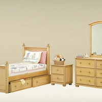 Lennox Twin Size Storage Bed