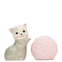 Kitten & Yarn Salt and Pepper Set