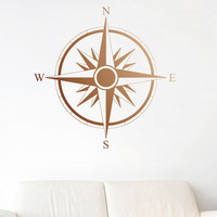 I liked this design on #Fab. Compass Decal Copper