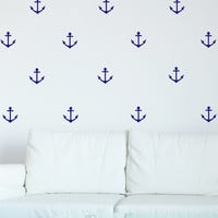 I liked this design on #Fab. Anchors Decal Navy