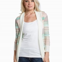 DEBUT AZTEC STRIPE CARDIGAN