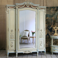 One of a Kind Antique French Armoire