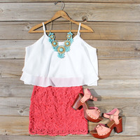 St. Tropez Dress in Coral