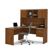 BESTAR Flare L-Shaped Workstation
