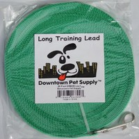 50' Foot Long Dog Puppy Training Obedience Lead, Leash - GREEN by, Pet Supply City, LLC