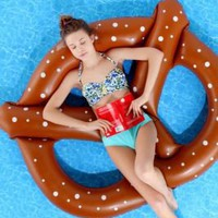 UrbanOutfitters.com &gt; Pretzel Pool Float