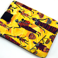 Hand Crafted Tablet Case From African Women, African Beauty, African Ethnic Fabric /Case for: iPad, Samsung Galaxy , Google Nexus,Nook HD
