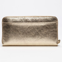 kate spade new york 'harrison street - metallic lacey' wallet | Nordstrom