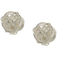 Crazy Woven Stud Earring at Accessorize