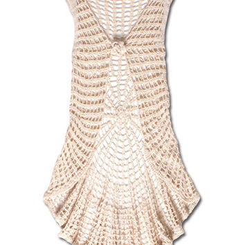 Crochet Vest: Soul Flower Clothing