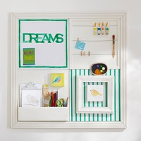 2x2 Kelly Green Sentiment Stripe Style Tile 2.0 Set