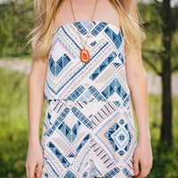 Romp to the Desert Romper - Lotus Boutique