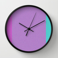 Re-Created Interference ONE No. 15 Wall Clock by Robert S. Lee