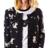 The Cat Lady Cardigan