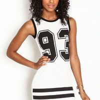 SPORTY BODYCON DRESS