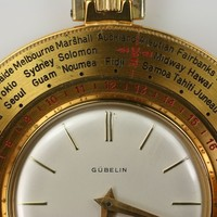 Gübelin World Time Travel Clock