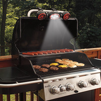 BBQ Grill Light and Fan @ Sharper Image