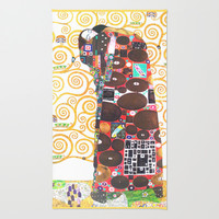 Love & Fulfillment - Gustav Klimt Area & Throw Rug by BeautifulHomes | Society6