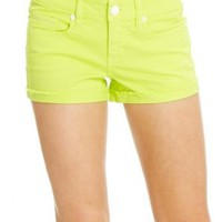 2b Ibiza Cuffed Colored Denim Short