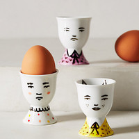 Portraiture Egg Cup