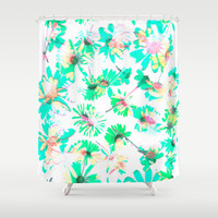 Flowering #6 Shower Curtain by Ornaart