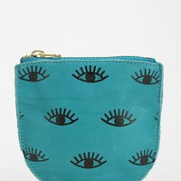 BAGGU Small Printed Leather Zip-Pouch - Urban Outfitters