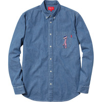 Supreme: Supreme/Pink Panther® Denim Shirt - Light Blue