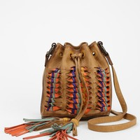 Frye Heather Woven Leather Bucket Bag - Urban Outfitters