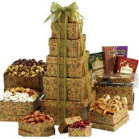 Broadway Basketeers The Ultimate Gourmet Gift Tower for Mother's Day