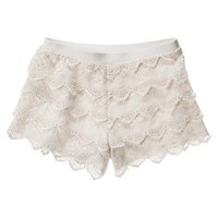 Mossimo Supply Co. Junior's Lace Short