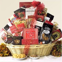 Snack Attack ~ Extra Large: Gourmet Snacks Gift Basket