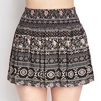 Favorite Folk Print Skirt