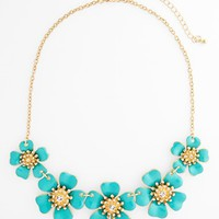 BP. Flower Frontal Necklace (Juniors) | Nordstrom