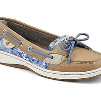 Angelfish Sequin Boat Shoe