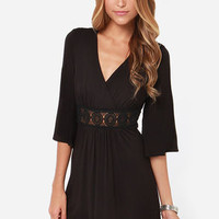 Lucy Love Vivienne Black Dress
