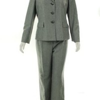 Evan Picone Water Color Pant Suit