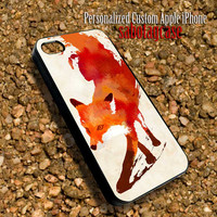 Fire Fox Sabotagcase - Personalized Custom iPhone 4 4S iIPhone 5 5S 5C Samsung Galaxy S3 and S4 Accessories Case - 02Jan1402