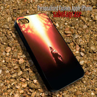 Light On The Beast - Personalized Custom iPhone 4 4S iIPhone 5 5S 5C Samsung Galaxy S3 and S4 Accessories Case - 02Jan1412