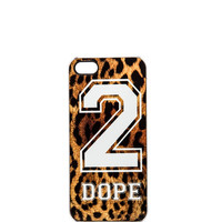 ZERO GRAVITY 2 Dope iPhone 5 Case in Leopard
