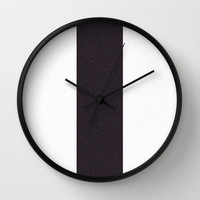Re-Created Interference ONE No. 19 Wall Clock by Robert S. Lee