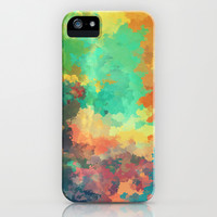 Cloudy in Paradise iPhone & iPod Case by SensualPatterns