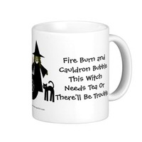 This Witch Needs Tea! Tea-addicts Cup/Mug