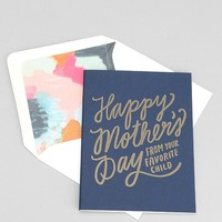 Moglea Mom's Favorite Card - Urban Outfitters
