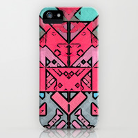 Robot iPhone & iPod Case by SensualPatterns