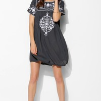 Little White Lies Embroidered Shift Dress-