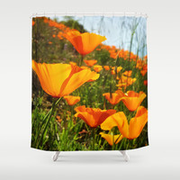 Roadside Beauty Shower Curtain by DuckyB (Brandi)