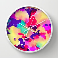 Lush Wall Clock by Jacqueline Maldonado | Society6